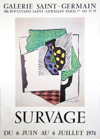 Cartel Survage - Galerie St Germain