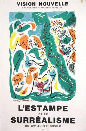 Litografía Masson - Galerie Vision Nouvelle