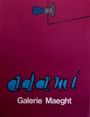 Litografía Adami - Gallery Maeght