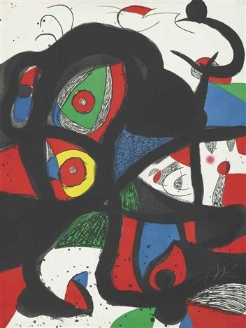 Aguafuerte Y Aguatinta Miró - Gargantua