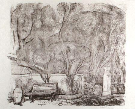 Litografía Purrmann - Garten in Levanto