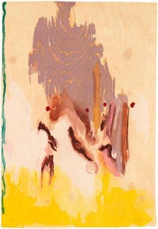 Grabado En Madera Frankenthaler - Geisha