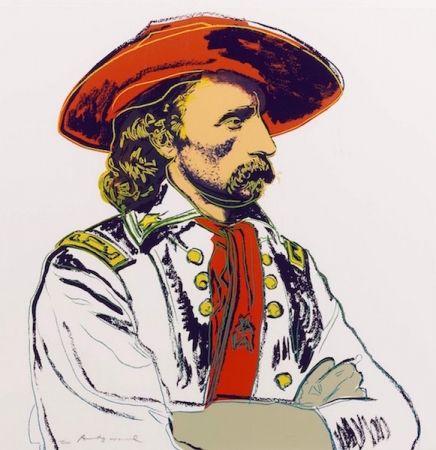 Serigrafía Warhol - General Custer