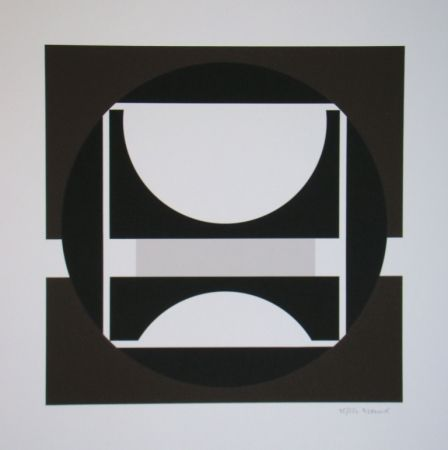 Serigrafía Decock - Geometrische Abstractie