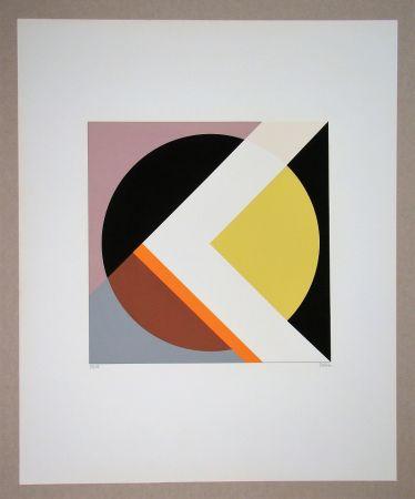 Serigrafía Dexel - Geometrische Komposition