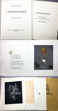 Libro Ilustrado Herold - Georges Bataille : L'ARCHANGÉLIQUE. Notes sur Georges Bataille par Patrick Waldberg.