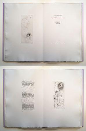 Libro Ilustrado Bellmer - Georges Bataille : Madame Edwarda. 12 gravures originales signées (1965).