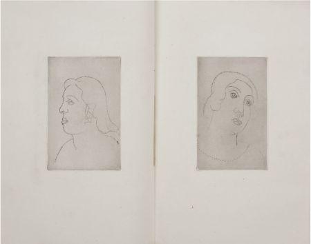 Libro Ilustrado Derain - Georges Gabory : LA CASSETTE DE PLOMB. Deux gravures originales et inédites par André Derain (1920)