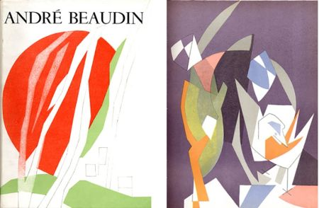 Libro Ilustrado Beaudin - Georges Limbour : ANDRÉ BEAUDIN, avec 9 lithographies originales en couleurs (1961).