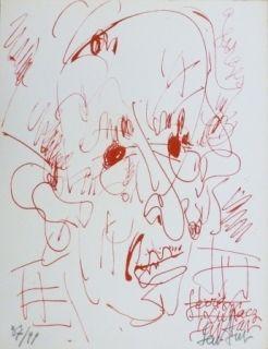 Litografía Paul  - Georges Lukacz