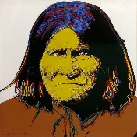 Serigrafía Warhol - GERONIMO FS II.384