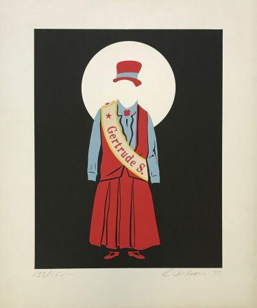 Litografía Indiana - Gertrude Stein