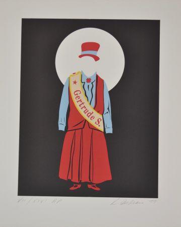 Litografía Indiana - Gertrude Stein - Mother of us all portfolio