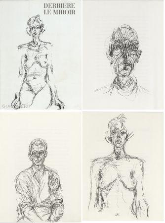 Libro Ilustrado Giacometti - GIACOMETTI. DERRIÈRE LE MIROIR N°127. Mai 1961