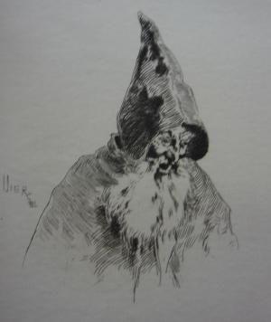 Grabado Vierge - Gil Blas