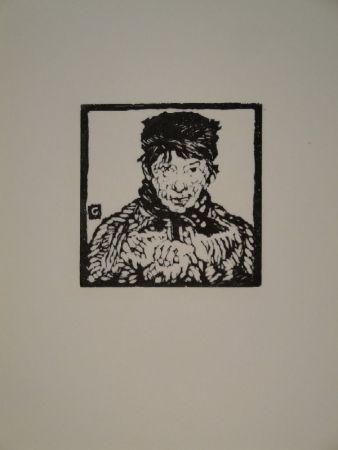 Grabado En Madera Giacometti - Giovanin da Vöja