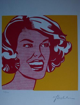Serigrafía Lichtenstein - Girl