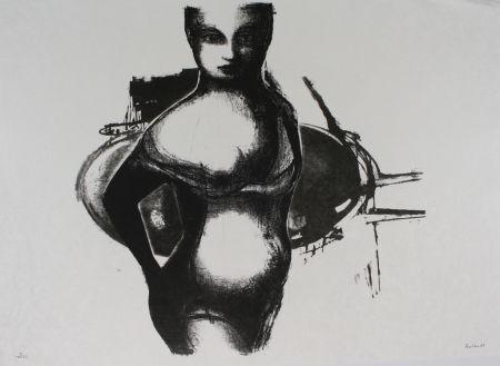 Litografía Butler - Girl