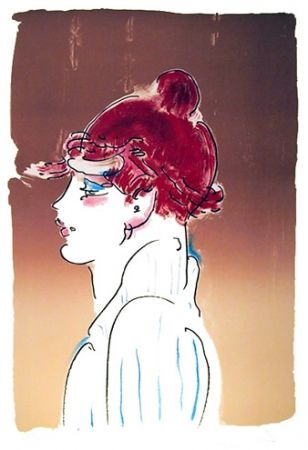 Litografía Max - Girl From Ibiza