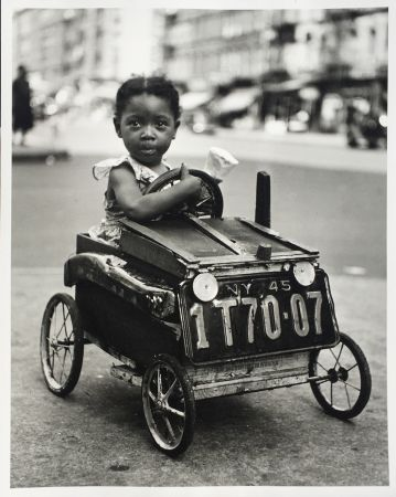Fotografía Stein - Girl in Car, New York