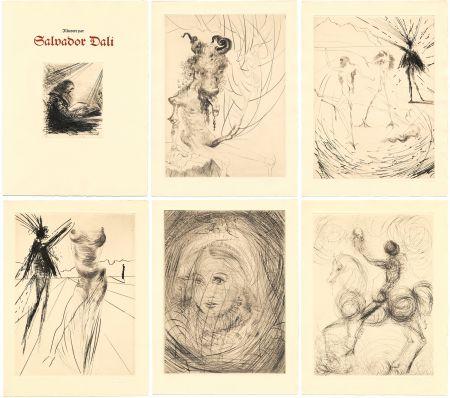 Libro Ilustrado Dali - GOETHE : FAUST. 21 gravures originales (1969