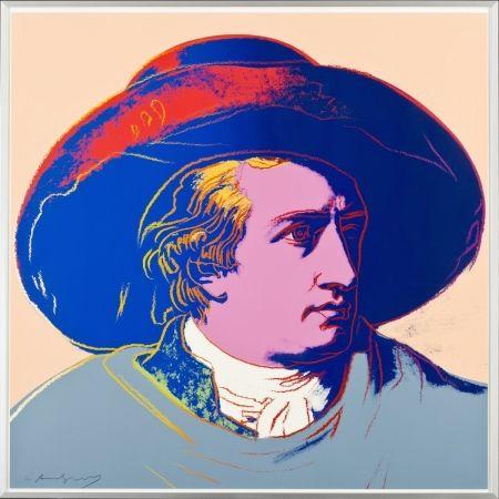 Serigrafía Warhol - Goethe FS II.273