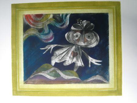 Aguafuerte Y Aguatinta Finsterer - Goethes Walpurgisnacht