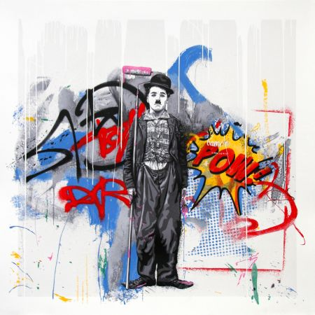Serigrafía Mr. Brainwash - GOLD RUSH