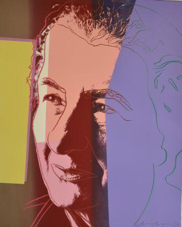 Serigrafía Warhol - Golda Meir (FS II.233) Trial Proof