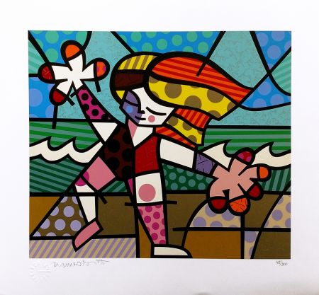 Serigrafía Britto - GOLDEN BEACHES