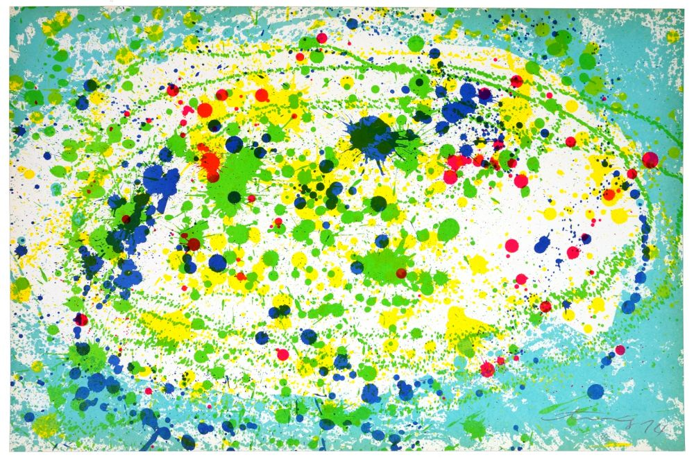 Litografía Ting - Good Morning (turquoise)