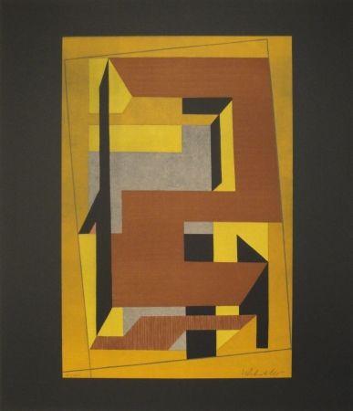 Litografía Vasarely - Gordes Taira