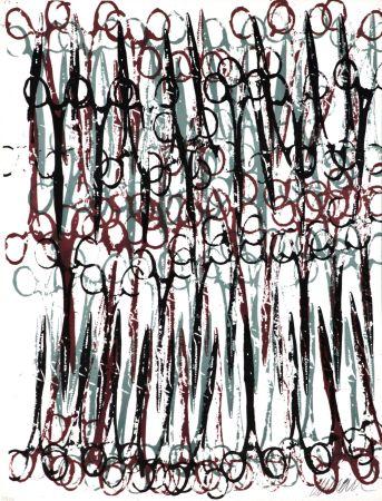 Litografía Arman - Gothic