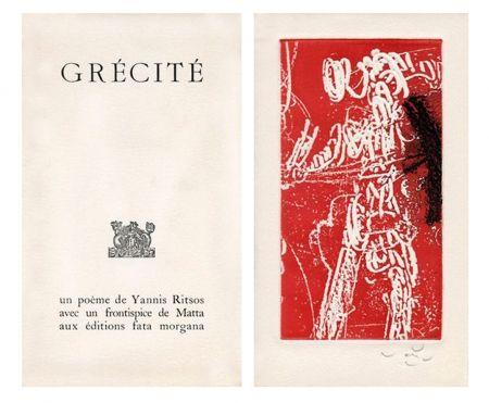 Libro Ilustrado Matta - Grécité