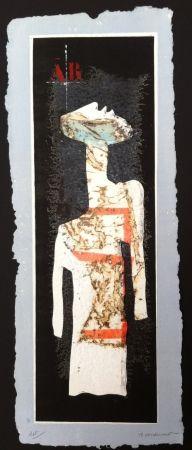 Grabado Coignard - Grand mannequin debout