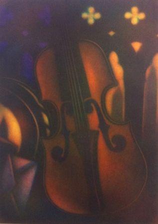 Manera Negra Schkolnyk - Grand violon rouge