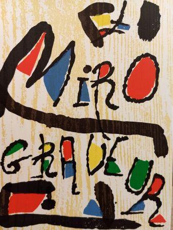 Libro Ilustrado Miró - Graveur 1