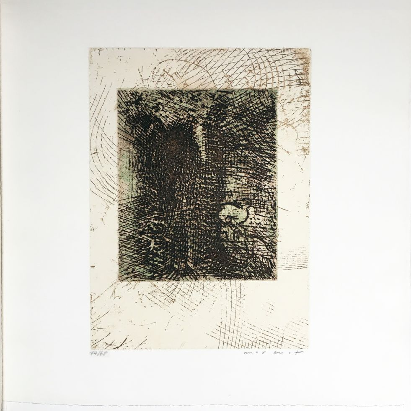 Aguafuerte Y Aguatinta Ernst - Gravure pour Antonin Artaud : TEXTE UND BRIEFE (1967)