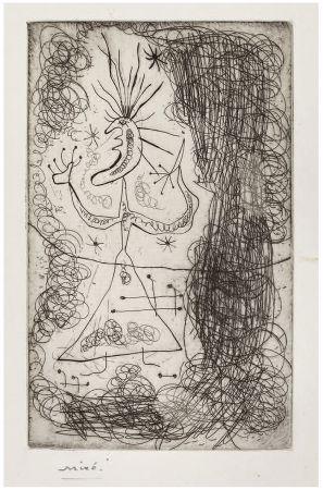Aguafuerte Miró - Gravure pour