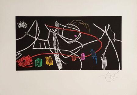 Grabado Miró - Gravure pour une exposition