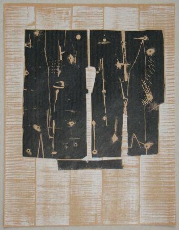 Grabado En Madera Consagra - Gravure sur bois pour XXe Siècle