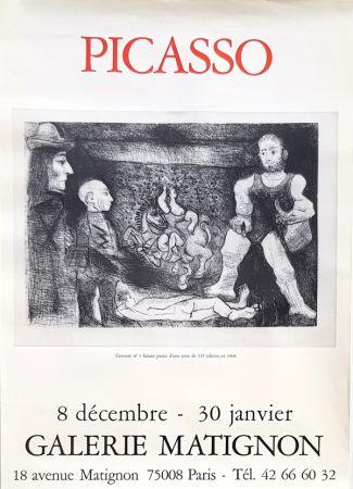 Offset Picasso - Gravures  Galerie  Matignon