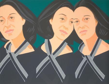 Serigrafía Katz - Gray Ribbon (Alex and Ada Suite)