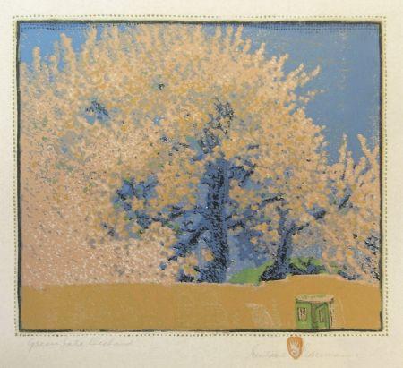 Grabado En Madera Baumann - Green Gate Orchard
