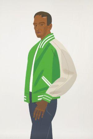 Serigrafía Katz - Green Jacket (Alex and Ada Suite)