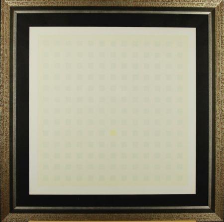 Serigrafía Calderara - Green Squares