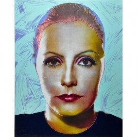 Serigrafía Jasen Smith - Greta Garbo