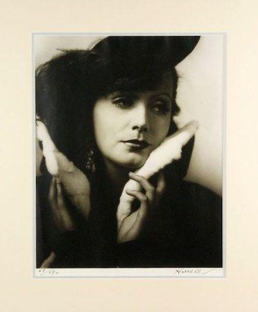 Fotografía Hurrell - Greta Garbo