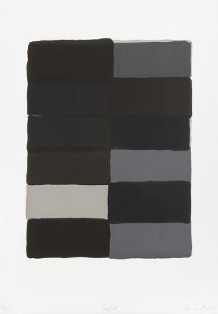 Litografía Scully - Grey fold