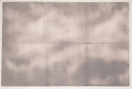 Litografía Goode - Grey Folded Clouds - IV Grey